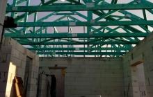 Střecha-trámy
