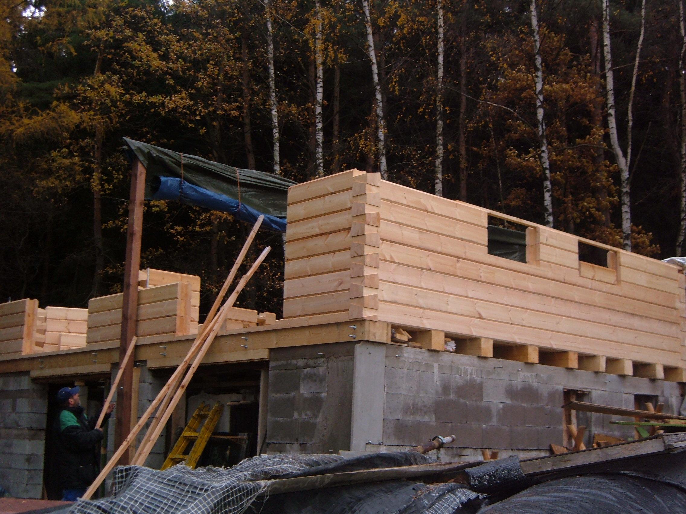 Dřevostavby a Roubenky včetně rekonstrukcí