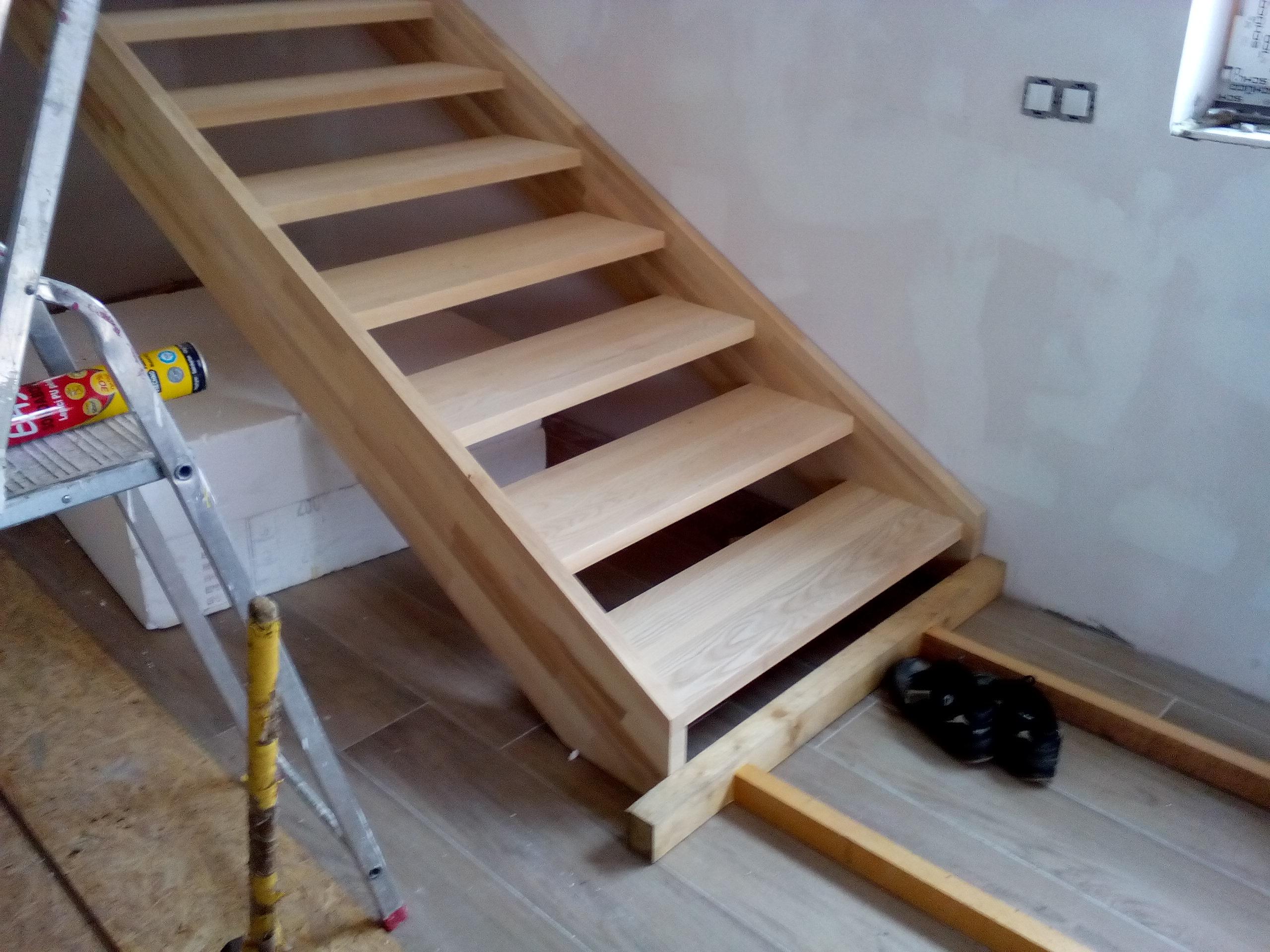 Půdní vestavby, schody