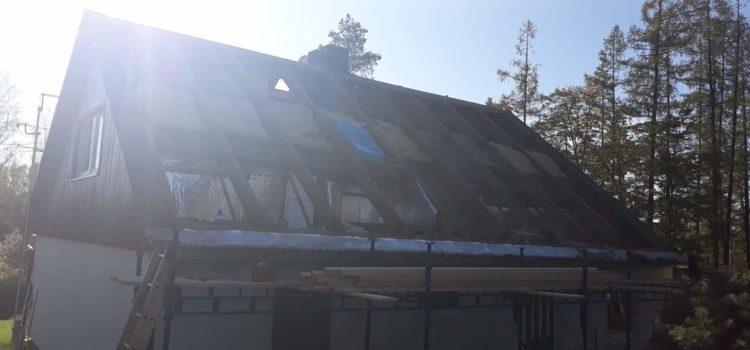 Co obnáší rekonstrukce střechy?