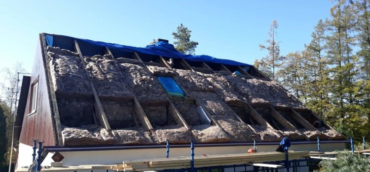 Zateplení střechy – jak a čím zateplit šikmou střechu.