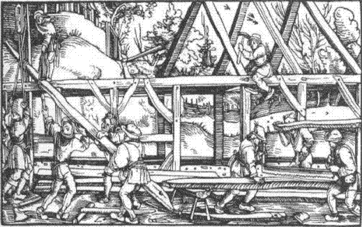 Historie tesařství a střech