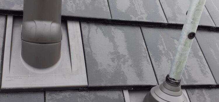 Na střechu použita taška Bramac Tegalit.
