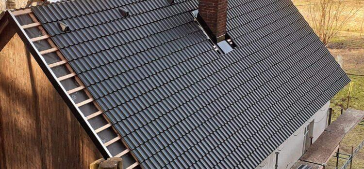 Rekonstrukce střechy na chalupě